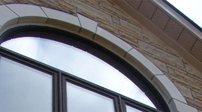 exterior house window
